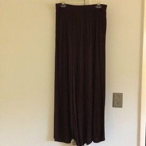 H&M Purple Maxi Skirt